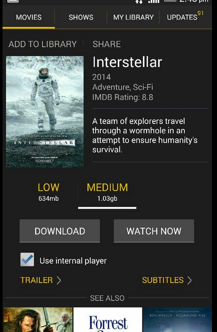 ShowBox for Android 5