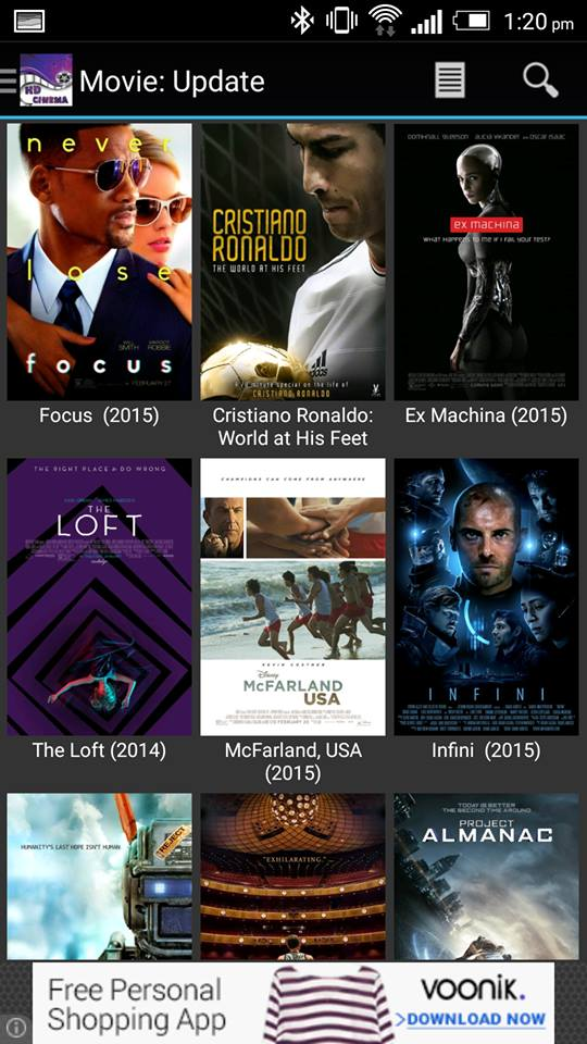 HD Cinema for Android APK 2