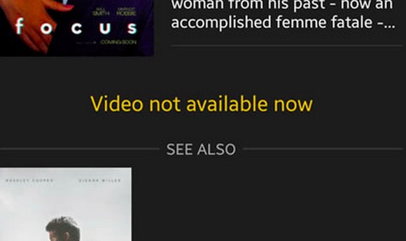 ShowBox 'Video Not Available. Try Another Server' Error Fix 1