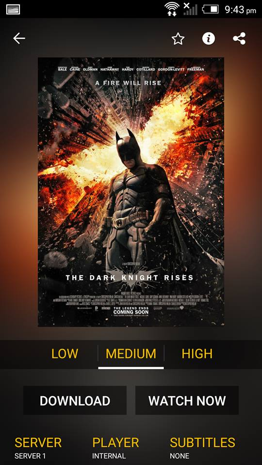 The Dark Knight Rises on ShowBox 3