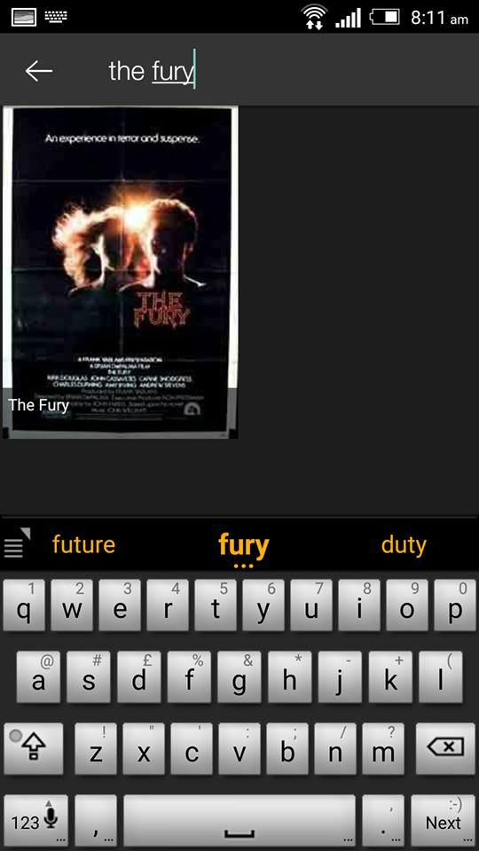 The Fury on ShowBox 2